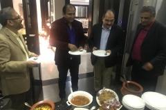Dinner at Mr. Suhail Waraich Geo TV Residence