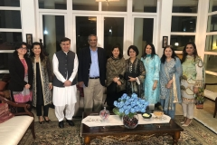 Dinner   hosted   by   Pakistan   Ambassador   in   Singapore   2020