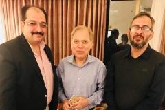 Chairman GRG and Director Corporate Affairs GRG with Advisor Pakistan Board of Investment Mr Feroz Shah