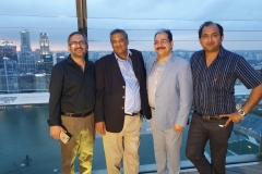 Hosting Geo Team in Singapore with Chairman GRG