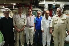 MD visiting Vessels in Batam 2020