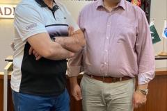 MNA Mr. Amjad Niazi visiting GRG Singapore