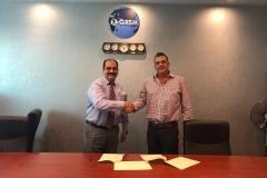 Chairman GRG signing MoU for Livestock Transportation