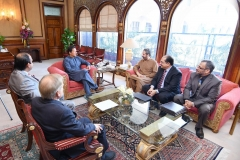 Chairman GRG with Prime Minister of Pakistan Mr Imran Khan discussing maritime scenario and plans