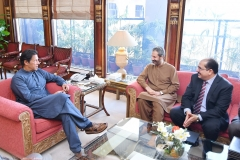Chairman-GRG-discussing-Maritime-Investment-Proposal-with-Prime-Minister-of-Pakistan-Mr-Imran-Khan-at-PM-House-Pakistan